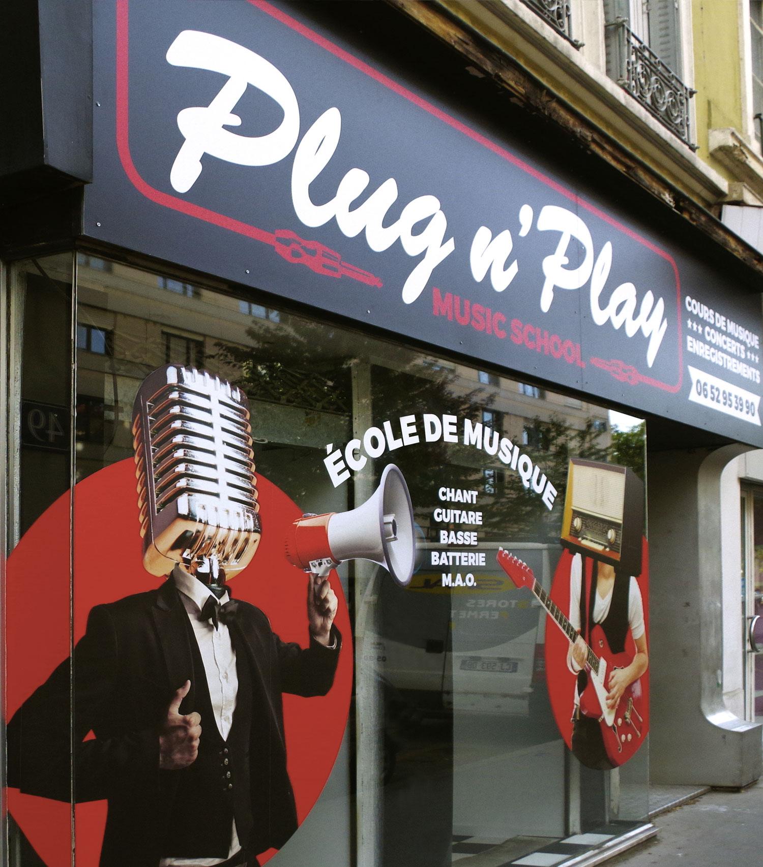 Ecole de Musique Lyon - Plug n'Play Music School